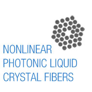 Nonlinear Photonic Liquid Crystal Fibers