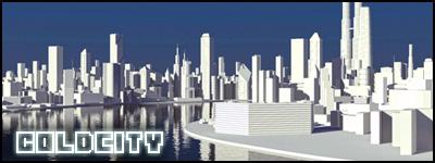 "Widok na komputerowo wygenerowane miasto ""Coldcity"""